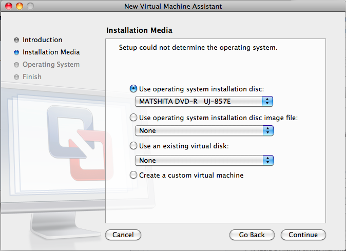 Use and existing virtual disk