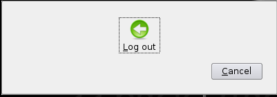 Log out.